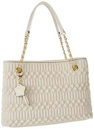 Jessica Simpson Pretty Whisper Shoulder Bag,Cream,One Size