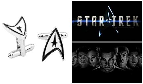 Superheroes Star Trek Star Fleet Logo Cufflinks