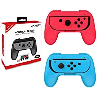 Nintendo Switch Grips Soporte Para 2 Joy-Con Neon