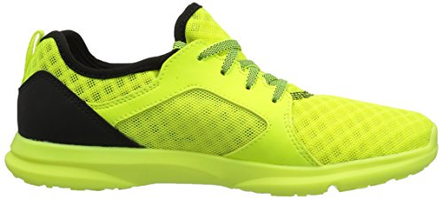 Ariat Kids Fuse Athletic Shoe, Neon Yellow Mesh, 1 M US Little Kid