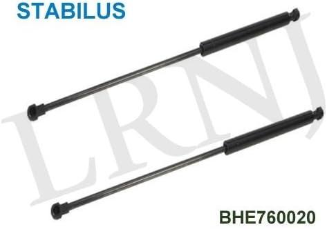 Strut,2 Pcs Tail Gate Lift Support Shock Gas Strut BHE780060 BHE780012