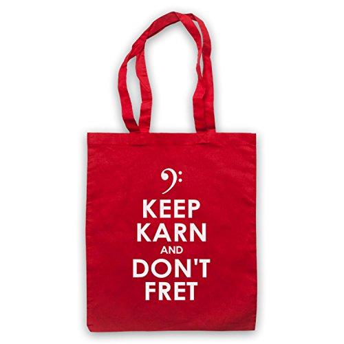 Mick Karn Keep Karn And Don't Fret Japan Bolso Rojo