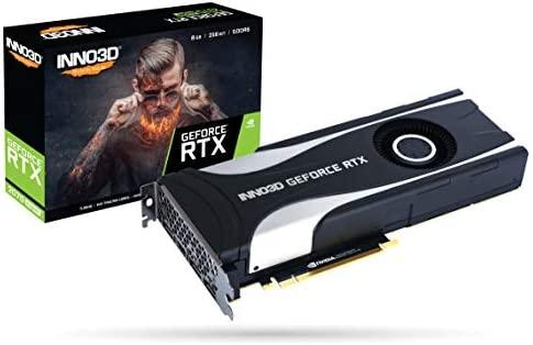Inno3D Tarjeta gráfica GeForce RTX 2070 Super Jet X1 8 GB ...