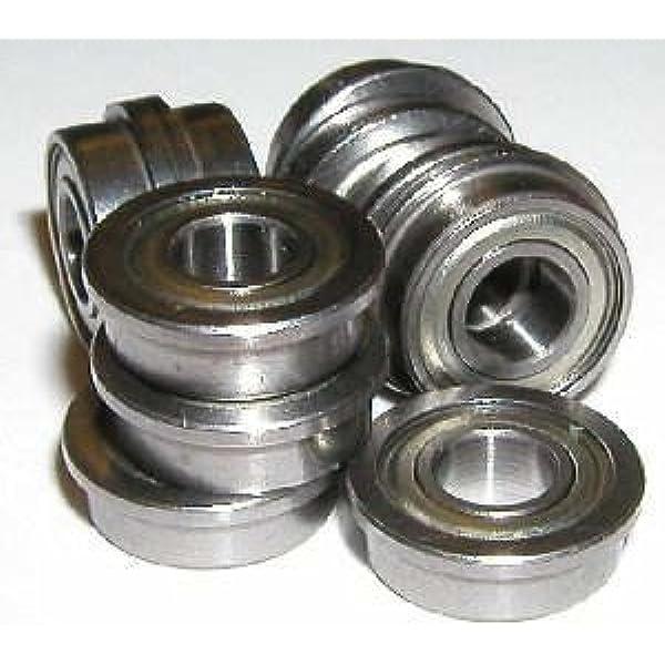 "5 PCS 1//8/"" x 5//16/"" x 9//64/"" Stainless Steel FLANGED Ball Bearing SFR2-5zz"