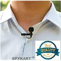 Modern In Digital Noise Cancellation Clip Collar Mic Condenser for YouTube Video | Interviews | Lectures Travel Videos Mike for Mobile