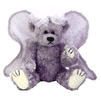 (Ty Attic Treasures - Sterling the Silver Angel Bear)