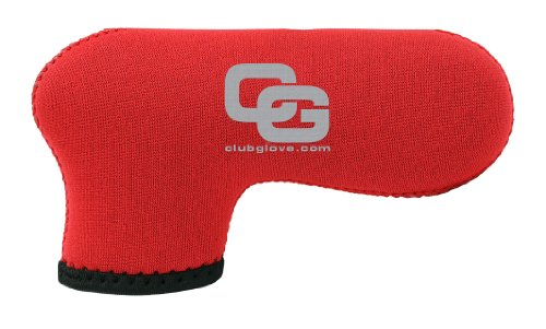 Club Glove XL Gloveskin Blade Putter Cover (Red), Outdoor Stuffs