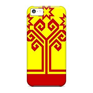 LaurenPFarr Case Cover For Iphone 5c - Retailer Packaging Chuvashia Flag Russia Protective Case