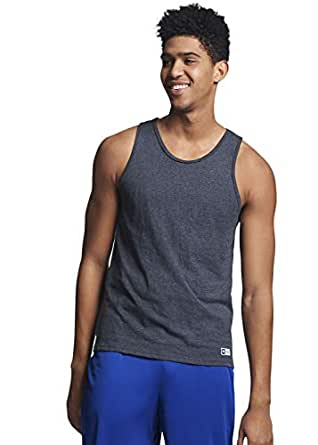 Russell Athletic Men's Cotton Performance Tank Top - Black - Small