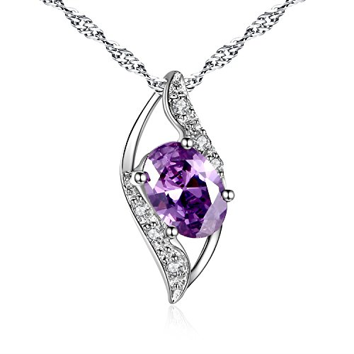 Amethyst Oval Jewelry Box - 3