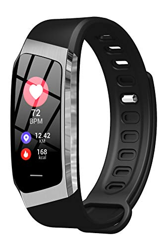 Fitness Tracker Blood Pressure Heart Rate Monitor Pedometer Watch Sleep Monitor Activity Tracker for Men Women