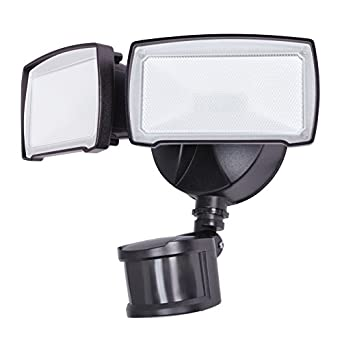 Utilitech pro 180 degree 2 head bronze led motion activated flood utilitech pro 180 degree 2 head bronze led motion activated flood light with mozeypictures Choice Image