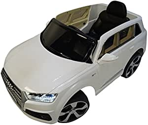 Amazoncom Licensed Audi Q Premium Ride On Electric Toy Car For - Audi electric toy car
