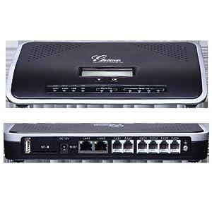 Grandstream GS-UCM6104 4 Port Innovative IP PBX Appliance - Black