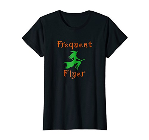 Womens Halloween Witches Frequent Flyer Costume