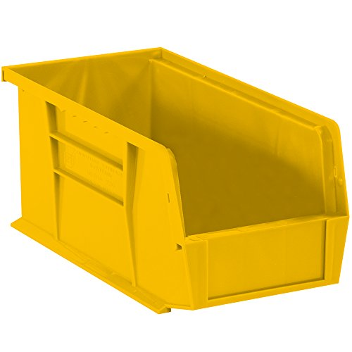 - Aviditi BINP1889Y Plastic Stack and Hang Bin Boxes, 18