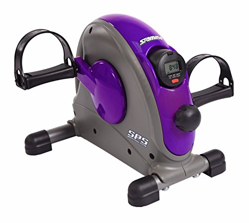 Stamina Mini Exercise Bike, Purple