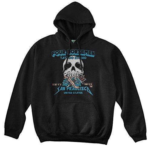 8ba419b3df7161 BathroomWall T-shirts Metallica Inspired Four Horsemen Tattoo Studio