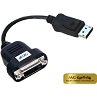 Accell DisplayPort to DVI-D Single-Link Active Adapter - Certified for AMD Eyefinity