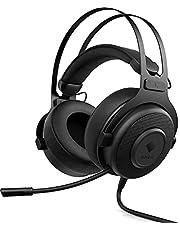 HP Gaming Omen Blast Gaming Headset USB 7.1 Surround ses, gürültü azaltma özellikli geri çekilebilir mikrofon, siyah