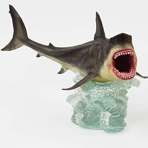 Megalodon Toy Shark Statue Figurine The MEG Paleontology Collectibles Oceanic Nautical Display by GemShark Collectiobles (Image #3)