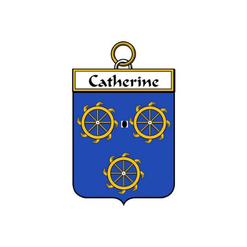 (Catherine Family Crest Coat of Arms Mouse Pad)