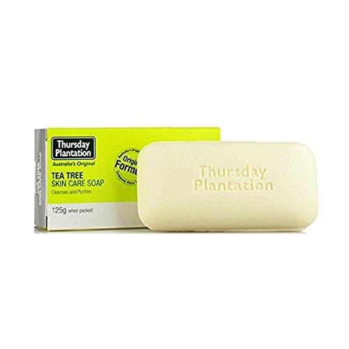Thursday Plantation. Tea Tree Skin Care Soap. 4 Oz. (3 Pack) x 2 (=Total 6 Bars)