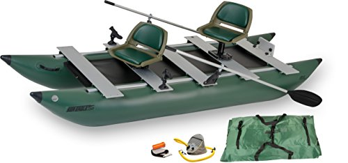 Sea Eagle 375fc FoldCat Inflatable Fishing Boat – Deluxe Package