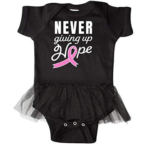 inktastic - Breast Cancer Awareness Infant Tutu Bodysuit 18 Months Black 3208a ()