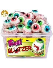 Pop Eye - Fyllda ögon - Halloween - TROLLI - Behållare 45 enheter
