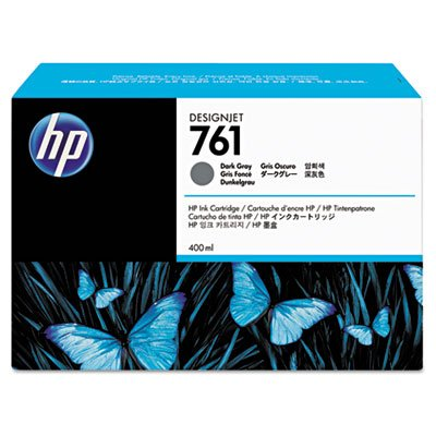 CM996A HP CONS/PL/HP 761 400ML DARK GRAY INK FOR DJ T7100