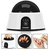 Upgraded Steam Off Gel Nail Remover Machine, UK Plug, Portable Electric Nail Steamer Tools Gel Nail Polish Acrylic Removal
