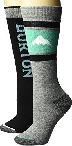 Burton Weekend Sock - 2-Pack - Women's True Black, S/M