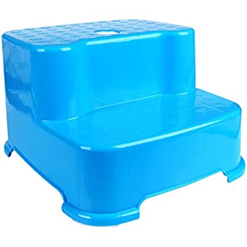 Amazon Com Hierkryst Child Bathroom 2 Step Stool 2 Steps