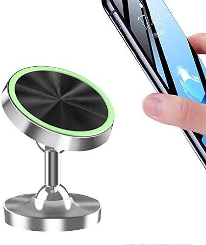 ZDGM Soporte Magnético Móvil Coche, Doble rotación de la Bola Universal Soporte Smartphone Vehículo para Rejilla del Aire 360 ° Rotación para iPhone XS X 8 Huawei P20 Samsung Xiaomi,002: Amazon.es: Deportes