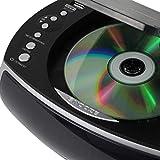Jensen Modern Home CD Tabletop Stereo Clock Digital
