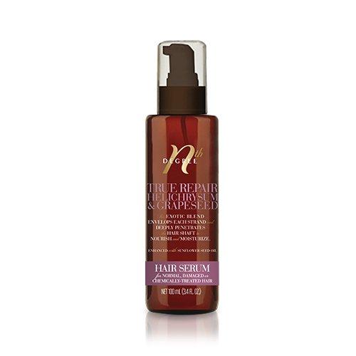 - Nth Degree True Repair Helichrysum & Grapeseed Hair Serum