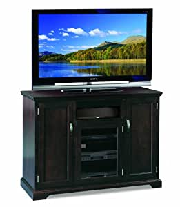 Leick Riley Holliday TV Stand, 50-Inch Tall, Chocolate Cherry