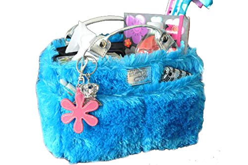 Kiss and Cry Angels -Figure Skating Tote - Fluffy - Turquoise