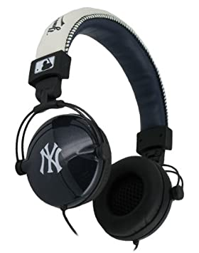 Ny MLB7710NAVY/WHITE NY - Cascos para DJ (MP3/MP4), color