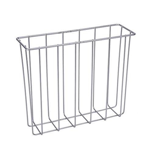 JETTINGBUY Over the Tank Magazine Holder, Metal Wire Toilet Magazine Rack Organizer 60%OFF