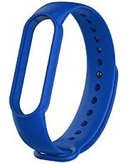 Strap Mi Band 4 silicone blue color