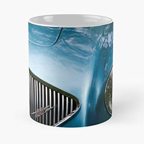 - Austin Healey 1955 Vintage Automobile - Funny Coffee Mug, Gag Gift Poop Fun Mugs