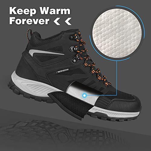 GRITION Chaussures de Randonnée Homme imperméables Chaussures de Trail,Bottes de Marche Moto Homme d'hiver de randonnée… 3