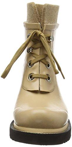 Ilse JacobsenRUB62 - botas de goma forradas y de caño bajo Mujer Marrón - Braun (Camel (210))