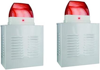 Flexo de 2er-Set de muestra sistemas de alarma-cajas de ...