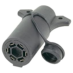 Hopkins 47555 7 RV Blade to 6 Pole Round Adapter
