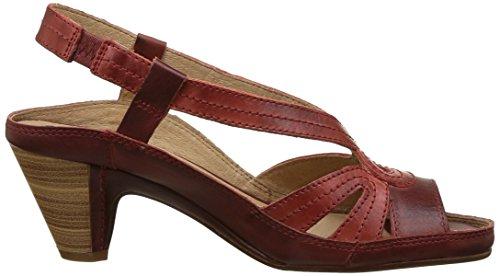 Donna rouge arcilla W5a Rosso Pikolinos Sandali Java 6AnzUnqp