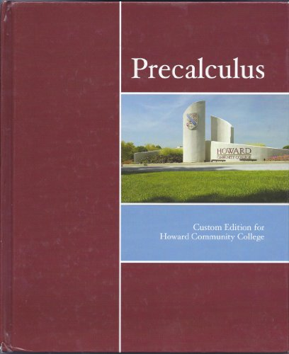 Precalculus: Custom Edition for Howard Community College
