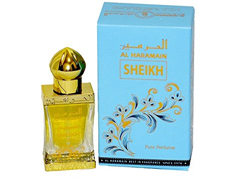 Sheikh 12ml al Hara MAIN parfümöl de gran calidad Árabe Oud misk Musk Almizcle Al Haramain